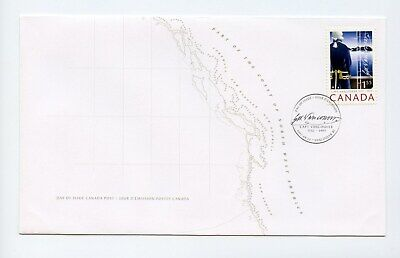 Canada FDC #2219 Capt George Vancouver 2007 73-6