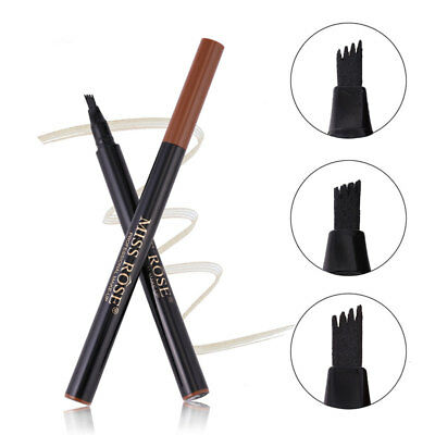As_ Liquid Eyebrow Pencil Long Lasting Fork Tip Microblading Tattoo Pen Alluring