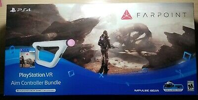 PS4 Game: PlayStation VR Farpoint Aim Controller Bundle NEW in box! USA Release!