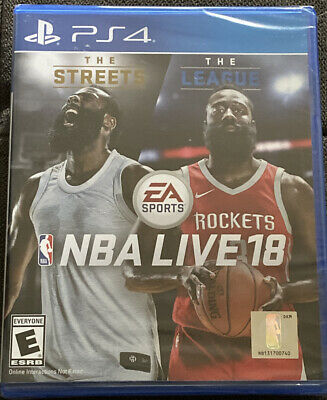 NBA Live 18 (Sony PlayStation 4, 2017)
