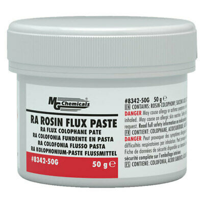 MG Chemicals RA Rosin Flux Paste, 50G