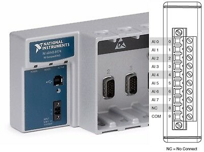 National Instruments NI 9221 cDAQ Analog Input Module, ±60 V