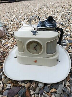 Goblin D25 b Teasmade with tray to restore not tested Vintage retro