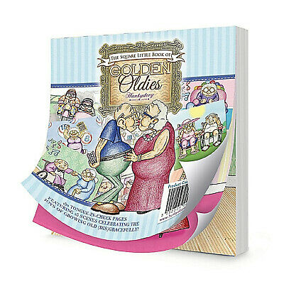24 Hunkydory Little Book Of Golden Oldies A6 Toppers