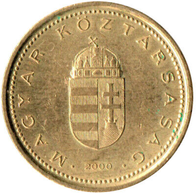Coin / Hungary / 1 Forint 2000   #Wt3351