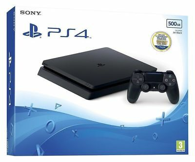 Sony PlayStation 4 Slim 500GB Bundle (1Controller DualShock)