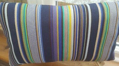 Genuine Paul Smith Boudoir Cushion with wool back 18x11 Inches