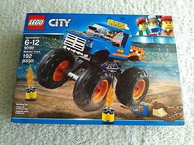 Lego City 60180 Monster Truck Building Kit 192 Pieces (new in box)