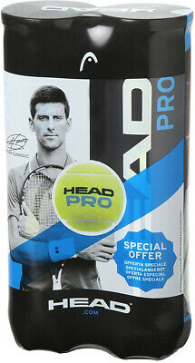 Head Unisex Pro Tennis (8 Balls), Yellow, One Size