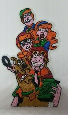 Scooby Doo Gang with Scooby Snacks Embroidered patch 4 1/2 inches tall