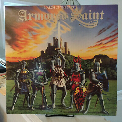 Armored Saint - March of the Saint LP Chrysalis FV 41476  Can U Deliver  VG++