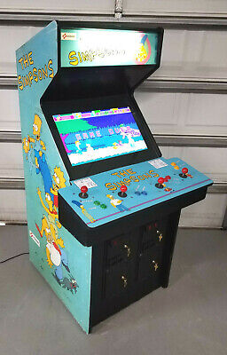 THE SIMPSONS Arcade Game - Classic 90s game from Konami!