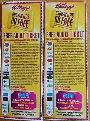 4 Free Adult Entry Merlin Voucher Codes To Alton Towers Legoland Sealife Thorpe