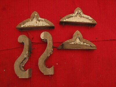 ANTIQUE WOODEN ORNATE FINIALS, CORBEL PARTS,SALVAGE 1800s, ARCHITECTURAL DETAILS