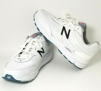 89f003b02759d New Balance Womens Sz10 2E WW840WP Health Walking Shoe Sneakers White  Leather