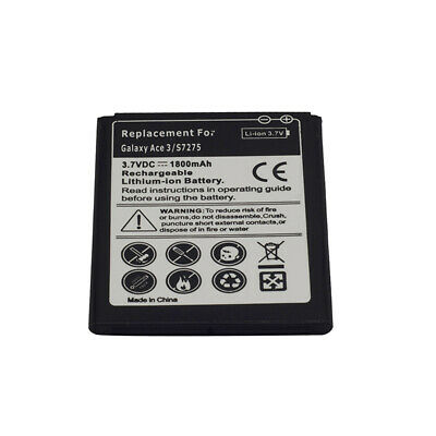 Replacement Battery Fits for the Samsung Galaxy Ace 3 III - Black