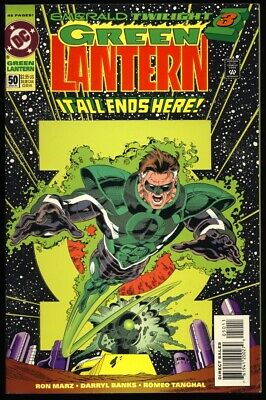 GREEN LANTERN Vol 3 #50 1994 1ST APPEARANCE KYLE RAYNER & PARALLAX - GLOW COVER