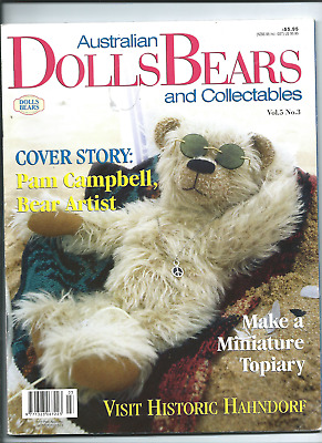 MAGAZINE AUTRALIAN DOLLS AND BEARS & COLLECTIONS vol 5#3 see scan fo contents