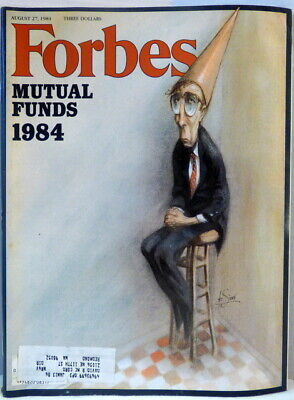 Forbes Magazine August 27, 1984 Mutual Funds 1984