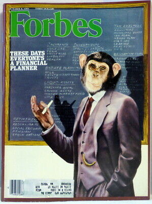Forbes Magazine October 8, 1984 These Days Everyone's A Financial Planner