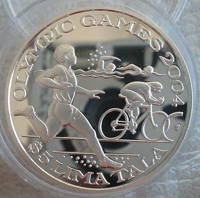 TOKELAU 5 Tala 2003 Silver Proof Olympic Games