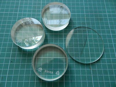 Glass Optical Flat Parallel Plate parallel-plane glass PI-60 - USSR