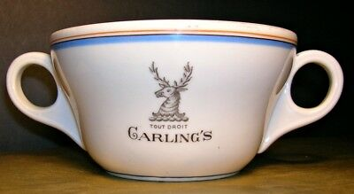 JACKALOPE   Garlings Tout Droit Soup Cup  VTG  Burley and Co in Bavaria