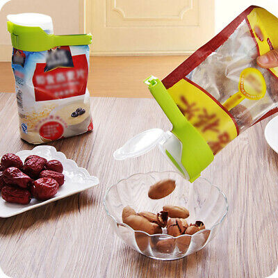 Bag Clips Seal Pour Food Storage PP Food Sealing Clip For Storage Kitchen Tool