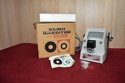 Retro Elmo 8mm Editor Model SE Dual Boxed MINT