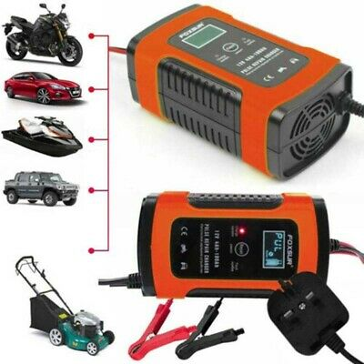 12V 6A Motorcycle Car Truck Battery Charger Pulse Fast Repair Lead Acid Starter
