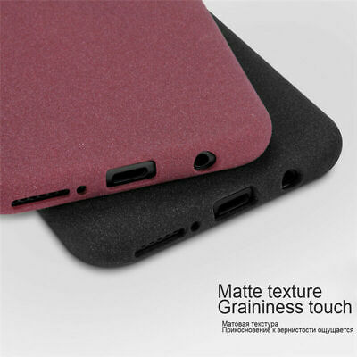 For Samsung Galaxy A90 A70 A50 Ultra-thin Matte Sandstone Rubber Soft Case Cover