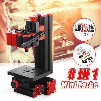8In1 Multipurpose Machine DIY Power Tool Lathe Kit Jigsaw Milling Drilling