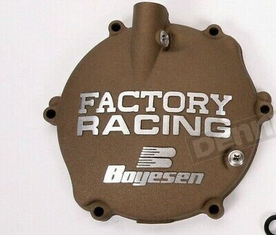 BOYESEN FACTORY RACING CLUTCH COVER - Magnesium - Yamaha YZ125 1994 - 2004