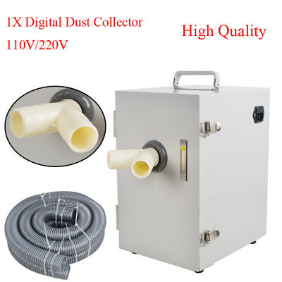 Professional Dental Digital Double Impeller Dust Collector Room Vacuum Cleaner