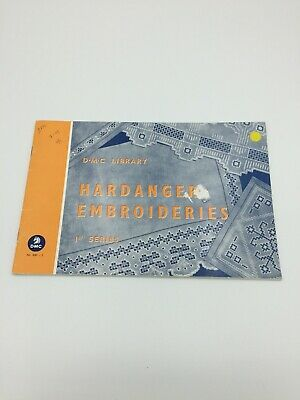 Mulhouse France DMC Hardanger Booklet 1960's Vintage
