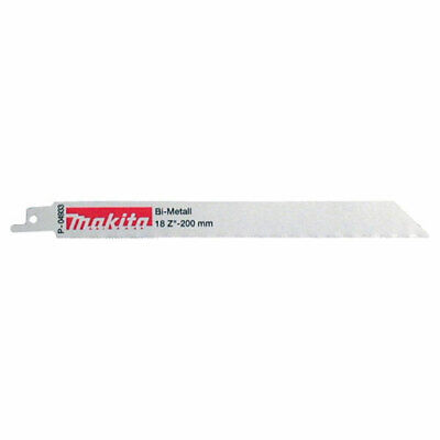Makita Specialized Reciprocating Saw Blades 200mm Pack of 5