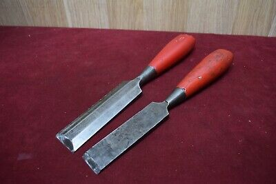 Vintage Footprint Chisel Woodworking Old Tools