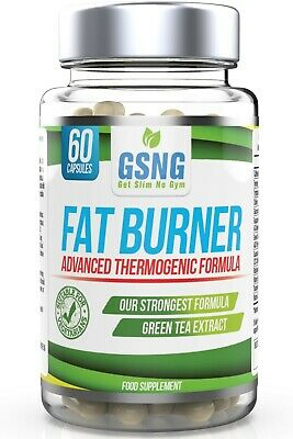 FAT BURNER Extreme Slimming Weight Loss Pills Green Tea Extract Vegetarian GSNG®