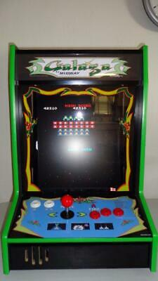 Tabletop Bartop Arcade Game - Galaga Themed
