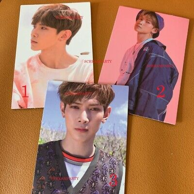 ATEEZ Yeosang Treasure Ep. 3 ONE TO ALL official photocard wave illusion cd san