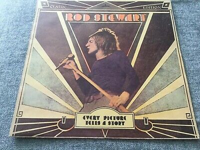 "Rod Stewart ‎– Every Picture Tells A Story Vinyl 12"" LP Mercury 6338 063"