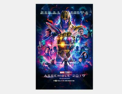 W337 Art 2019 Avengers 4 Endgame Movie New Marvel Poster 24x36