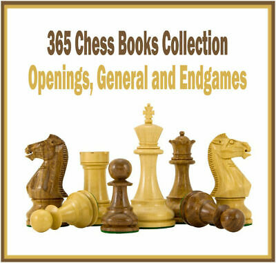 365 Chess Books Collection - Openings, General and Endgames - PDF Download