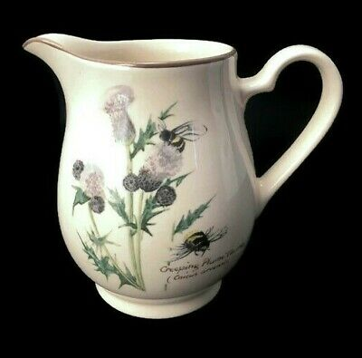 Noritake Country Diary of Edwardian Lady Creamer Edith Holden Pitcher