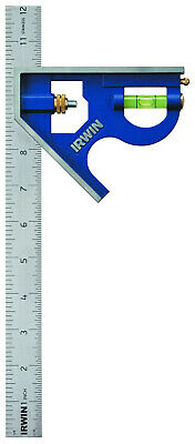IRWIN Tools Combination Square, Metal-Body, 12-Inch (1794469) FREE&FAST SHIPPING