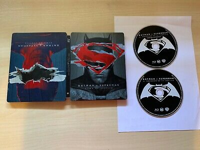Batman V Superman Blu-Ray Steelbook EDICION ESPAÑOLA