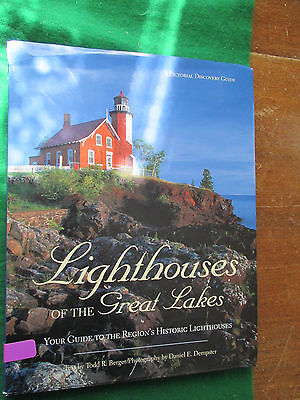 Lighthouses Of The Great Lakes Todd R Berger Your Guide To The Region's Historic
