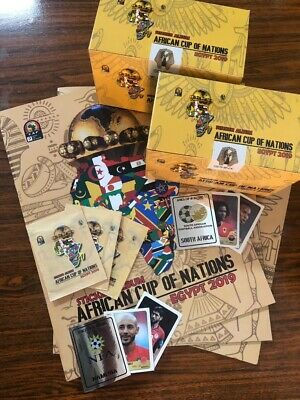 """African Cup Of Nations Set Of """"2 Boxes + 1 Album"""" (((Limited Time Offer)))"""