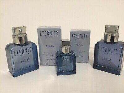 Eternity Aqua For Men by Calvin Klein Your Choice of Size NEW See Description