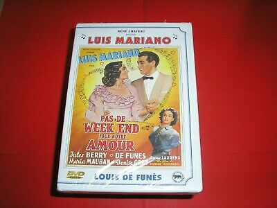 """DVD,neuf,comedie musicale,""""PAS DE WEEK END POUR NOTRE AMOUR"""",luis mariano,(1390)"""